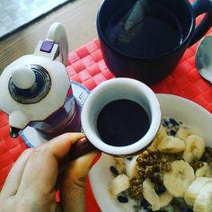 Buongiorno!!! Ci vuole la carica giusta x iniziare la settimana. La mia inizia così... #colazionesana #colazioneitaliana #chiacchiereacolazione #breackfast #italianstyle #italianfoodblogger #italianbreakfast #instabreakfast #instafoodblogger #instafood #goodfoods #infinity_coffeebreak #coffeelovers #caffeitaliano #rdd_food #foodrepublic #foodrepost #foodblogfeed