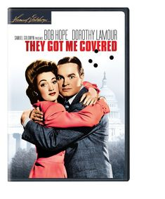 They Got Me Covered, starring Bob Hope, Dorothy Lamour, Donald MacBride - with Hope as a bungling war correspondent during World War II    http://family-friendly-movies.com/comedy/they-got-me-covered/