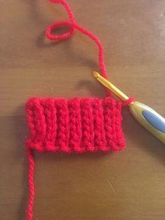 編み物の先生必見!かぎ針でキレイなゴム編みをする方法【編み図&動画】 – 編み物ブログ.com