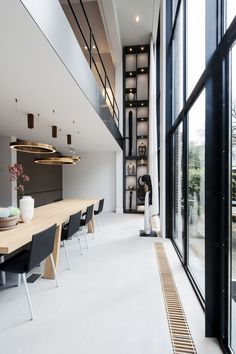French Kitchen Decor, Amsterdam Houses, House Extensions, Minimalist Kitchen, Big Houses, Interior Inspiration, Interior Architecture, Luxury Homes, House Plans