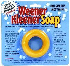Amazon.com: Design Sense Generic Weener Kleener Soap: Toys & Games