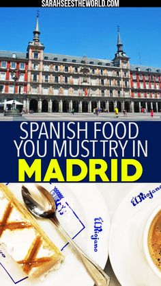 Madrid is known for its food so why not go on a food tour while you're there! Check out my food tour experience with Secret Food Tours and all the spanish food you must try in Madrid. If you love spanish food as much as we do, you�ll definitely want to save this pin to your travel or wine board.