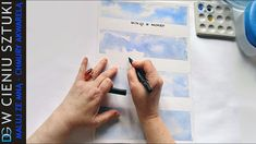 4 ways to paint by watercolor sky & clouds Watercolor Sky, Watercolor Paintings, Sky And Clouds, Instagram, Water Colors, Watercolour Paintings, Watercolor Painting