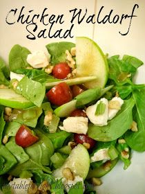 My Table For Eight {by Jen}: Chicken Waldorf Salad