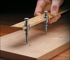 Veritas® Trammel Points - Woodworking