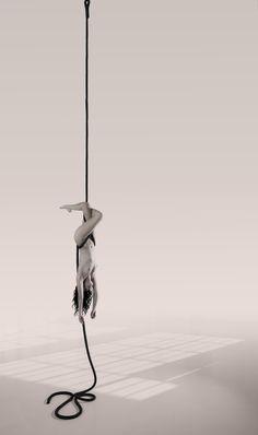Aurélie Bernard by Maja Karen, corde lisse/rope, Denmark