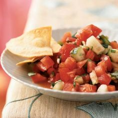 Gazpacho Salad with Tomato Vinaigrette by Cooking Light