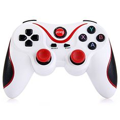 T3 Wireless Bluetooth 3.0 Gamepad Gaming Controller for Smartphone(White)