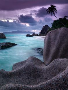 Seychelles Island (above Madagascar) - Visiting when I visit my Godfather in South Africa next year! So excited!