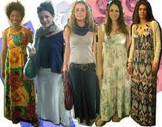 saias e vestidos longos - Pesquisa Google