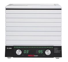 Nesco FD-2000 Digital 6 Tray Food Dehydrator