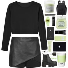 A fashion look from October 2015 featuring Monki tops, Topshop and Mansur Gavriel backpacks. Browse and shop related looks.