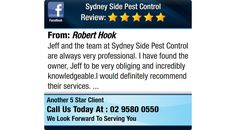 Jeff and the team at Sydney Side Pest Control are always very professional.   I have found...