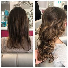 Transformation Tuesday alert  this #hotheads application was done by BLO/OUT's lead stylist Madison ! Swipe left to see more