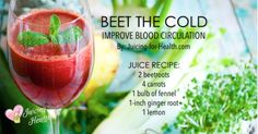 Beet The Cold with This Body-Warming Juice That Improves Blood Flow and Circulation