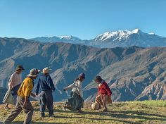 by ALTASENSIBILIDAD on Flickr.  Playing football at 4000m with Nevado Illimani in the background - Bolivia.