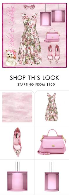 """Dolce & Gabbana"" by sukia ❤ liked on Polyvore featuring Dolce&Gabbana, Besa Lighting and Moschino"