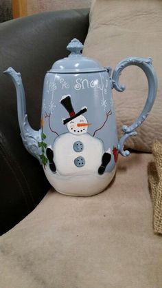 My Snowman Tea Pot