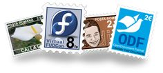 Postage stamps with Inkscape