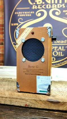 Cigar Box Guitar Amplifier KIT with All-wood Oliva G box & Pre-wired Leads - Full How-to Video! - C. B. Gitty Crafter Supply