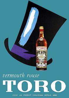 Toro Vermouth Rouge http://www.vintagevenus.com.au/products/vintage_poster_print-d550