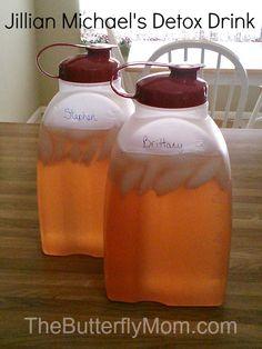 Jillian Michael's Detox & Cleanse Drink   The Butterfly Mom