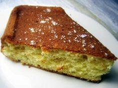 Bolo de manteiga e natas à moda dos Açores - http://www.sobremesasdeportugal.pt/bolo-de-manteiga-e-natas-a-moda-dos-acores/