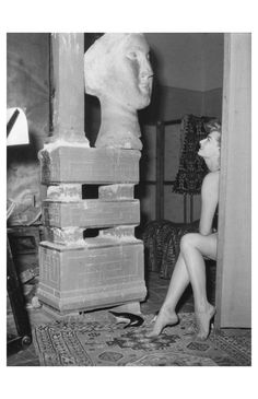 Sophia Loren, Villa Ada, 1953