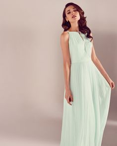 Ted Baker Mint Green Maxi Dress | Bridesmaid Dress