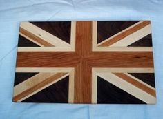 Union Jack Cutting Board by mattgillengerten on Etsy