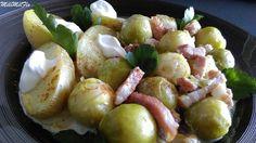 Choux de Bruxelles et lardons cuisiné au multicuiseur Philips  Whether it's…