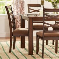 Three Posts Crossback 7 Piece Dining Set & Reviews | Wayfair