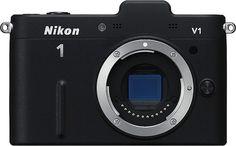 Nikon 1 V1, rent compact dslr with interchangeable lenses