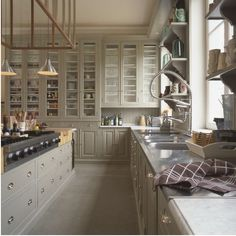 To the Manor Born: Luxe Kitchens from Baden Baden in Brussels : Remodelista