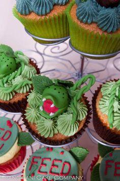 Little shop of horrors cupcakes - Cake by Frangipani Cake Company