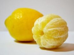 This peeled lemon: | 27 Completely Innocent Images That Will Bother You For Some Reason