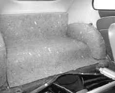 Black Tan Front or  Rear Seat VW Bug   Seat Belt