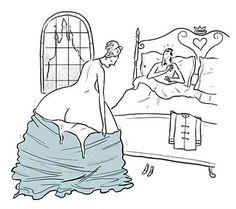 no crinolines under that dress!