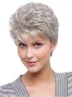 SKU:HW15095; Material:Synthetic; Cap Construction:Capless; Cap Construction:Capless; Length:Short; Hair Style:Wavy;