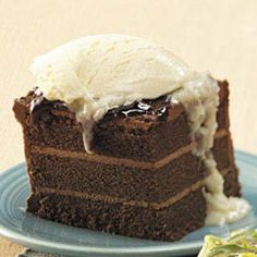 Chocolate+Cake+Coconut+Sauce  Great quick Dessert using frozen Cake!!