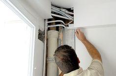 comment cacher les tuyaux apparent