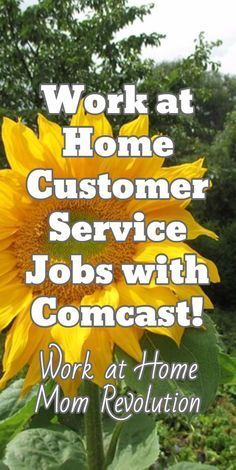 Work at Home Customer Service Jobs with Comcast! / Work at Home Mom Revolution #workformhomejobsmom