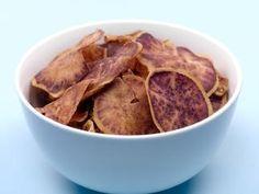 Homemade Purple Potato Chips - Door to Door Organics