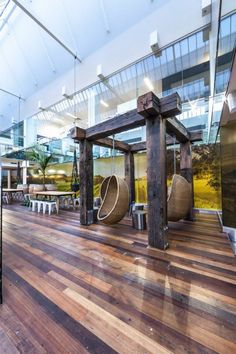Treasury Wine Estates Melbourne Offices #Office #workspace #Wine work space