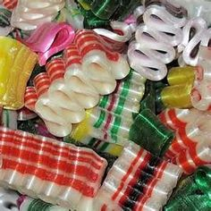 Old fashioned Christmas ribbon candy. My parents always talk about this stuff and how awesome it was! Christmas Ribbon, Noel Christmas, Retro Christmas, Christmas Candy, All Things Christmas, Christmas Service, Christmas Foods, Christmas Sweets, Primitive Christmas