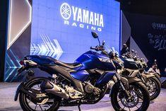 Yamaha FZ, FZ-S FI Version 3.0 ABS Photos Yamaha Fz, Abs, Product Launch, Bike, Blue Things, Photos, Color Blue, Motorcycles, Black