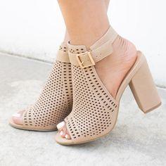 Summer Heel Sandals | 4 Colors | Jane