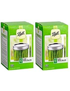 Ball Wide Mouth Lids And Bands * Visit the image link more details. Canning Tomato Juice, Canning Jalapeno Peppers, Canning Banana Peppers, Canning Corn, Canning Beets, Canning Potatoes, Canning Peaches, Canning Salsa, Canning Lids