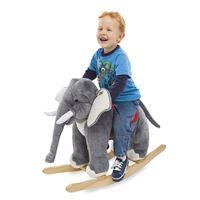 Plush Rocking Elephant