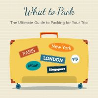 Put your mind at ease about what to pack for your next trip with this personalised packing list.